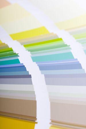 sampler: Color sampler of acrylic paint