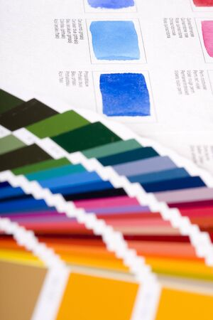 Color charts Stock Photo - 6389832