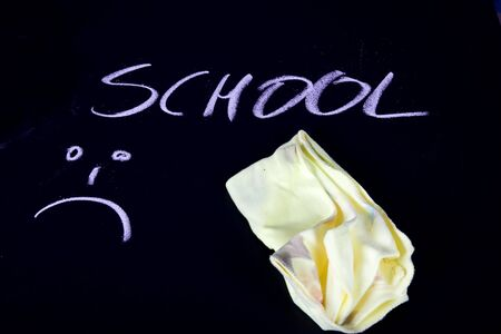 not happu with new school year Stock Photo - 7271868