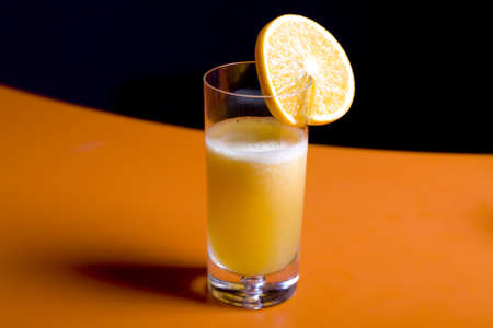fresh orange juice in a glass Stock Photo - 8178799