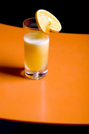 fresh orange juice in a glass Stock Photo - 9405216