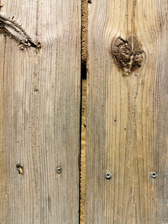 two boards nailed with bitches and not processed