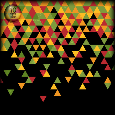 Abstract background made of triangles Banco de Imagens