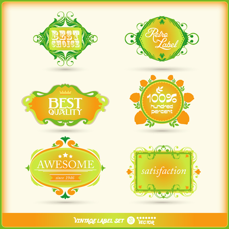 set of calligraphic and floral design elements with decoration and baroque frames and tulip ornaments. photo