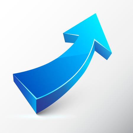 rosnąco: Strzałka niebieska rosnąco