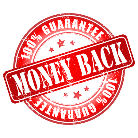 money back: Money Back Guarantee stamp.  Vector illustration.