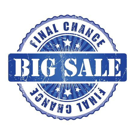 big sale: Big Sale  Final Chance Stamp.