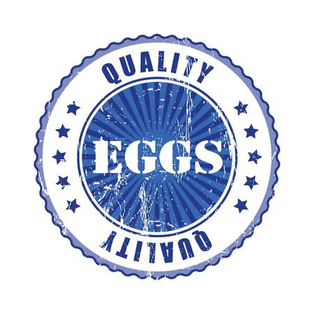 best quality: Eggs Quality Stamp.