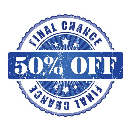 chance: 50%  Final Chance Stamp.