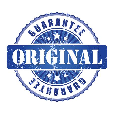 guarantee stamp: Original Guarantee Stamp. Stock Photo