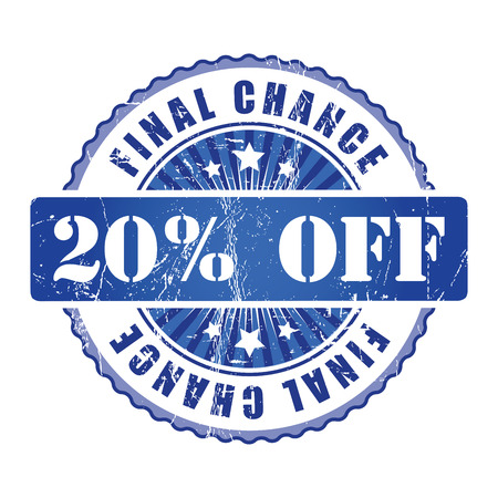 chance: 20%  Final Chance Stamp.