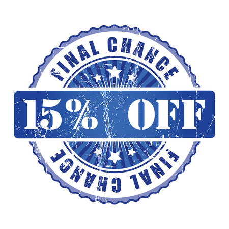chance: 15%  Final Chance Stamp.