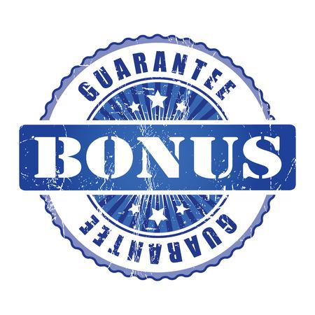bonus: Bonus Guarantee Stamp.