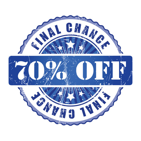chance: 70%  Final Chance Stamp.