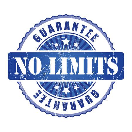 no limits: No Limits  Guarantee Stamp.