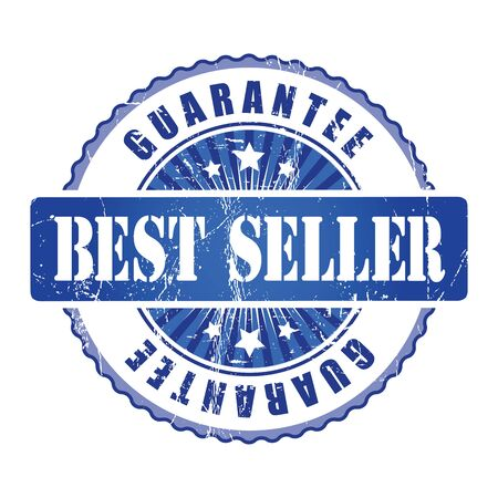 the seller: Best Seller  Guarantee Stamp. Stock Photo