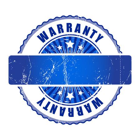 warranty: Empy warranty stamp.