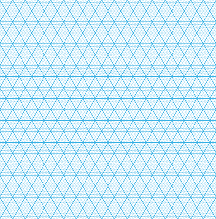 grid paper: Isometric grid paper. Seamless pattern. Square grid background.