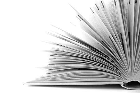 Open boek Stockfoto