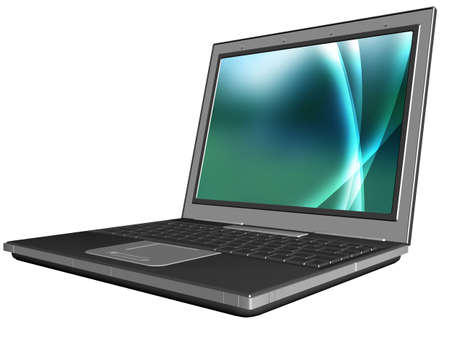 blank laptop Stock Photo - 5165611