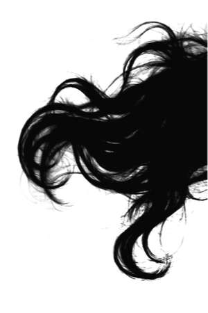 hairstyling: Fragment hair woman (black)