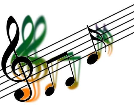 violinschl�ssel: Violinschl�ssel Harmonie (musikalisch)  Lizenzfreie Bilder