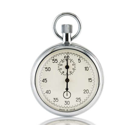 Analog stop watch (it is made in the USSR) Stock Photo - 1745762