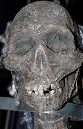 ceppi: Corpse. La testa del pirata bloccato da pastoie. (Spaventapasseri)