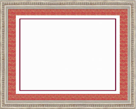matting: Classical framework under a photo isolated on a white background