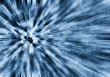 afar: abstract background on a theme of eternity and speed (beams leaving afar) Stock Photo