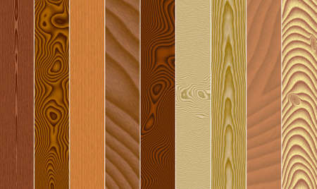 cellulose: Set texture of a tree (a beech, a cherry, an oak, an alder, a pine...) in the form of wooden boards