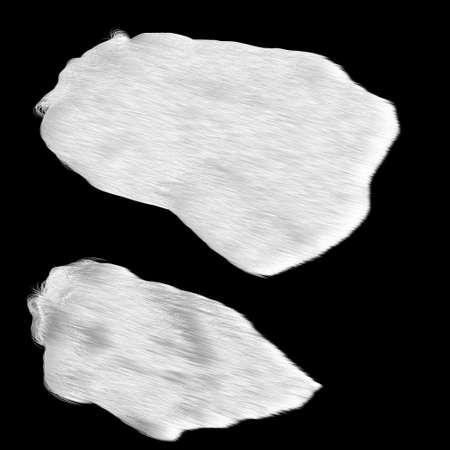 matting: Set wool animal  (Polar bear)