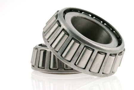 hard component: The bearing. Details rotor the bearing - heavy mechanical engineering