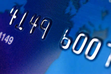 Credit card. A photo close up with the selected focus Stock Photo - 2775695