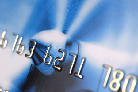 Credit card. A photo close up with the selected focus Stock Photo - 2862367