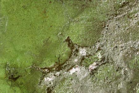 古い壁の構造。かびの生えたと裸の建物の壁のペンキ塗り 写真素材