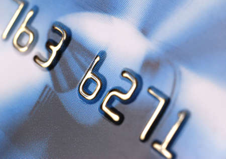 Credit card. A photo close up with the selected focus Stock Photo - 3187930