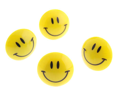 succes: succes abstract - isolated icon smile. A smiling symbol from the plastic, isolated on a white background