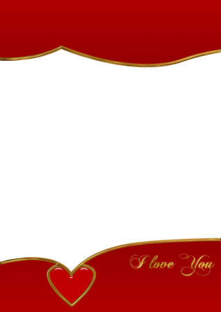 missive: valentine postcard.Holiday background with decorate element