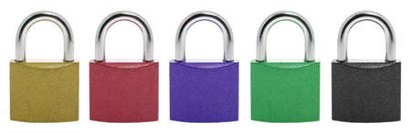 Lock.The locking device interfering penetration into any space photo