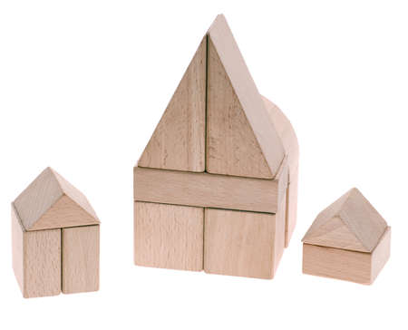 Toy houses. Stock Photo - 4087036