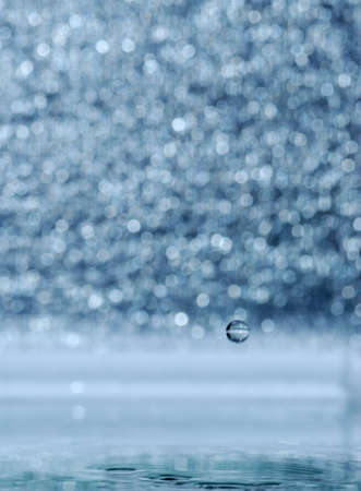 A water table with effective drops stains on water Stock Photo - 4131361