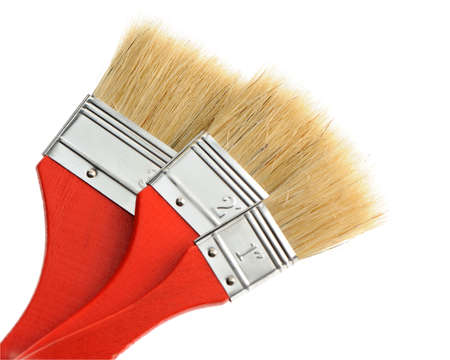 Painting brush. The tool for painting. It is isolated on a white background Stock Photo - 4233286