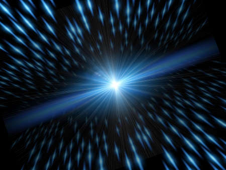 perspectiva lineal: Luz y la velocidad. Elemento de fondo con luz y movimiento velocidad
