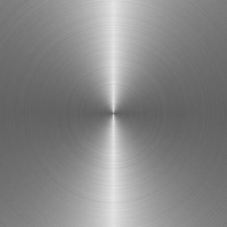 brushed aluminium: metal texture. The detailed fragment of a surface of metal Stock Photo