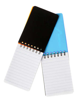 Notebook. Paper sheets in a cell on a spiral Stock Photo - 4476682