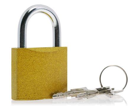 penetracion: Lock.The dispositivo de bloqueo de interferencia penetraci�n en cualquier espacio Foto de archivo