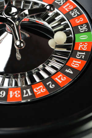 Roulette. Gambling in game establishments of a casino  photo