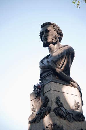 Monument to Pushkin. The great Russian writer - Pushkin �.S. Odessa. Ukraine Stock Photo - 5007438