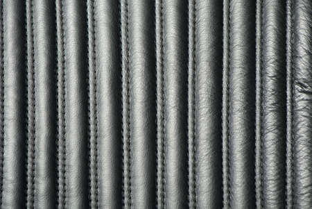 Structure of a leather armchair. A subject of furniture with a upholstery from a natural leather photo
